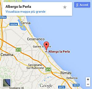 Carte Italie Bellaria.Carte Hotel La Perla Bellaria Rimini